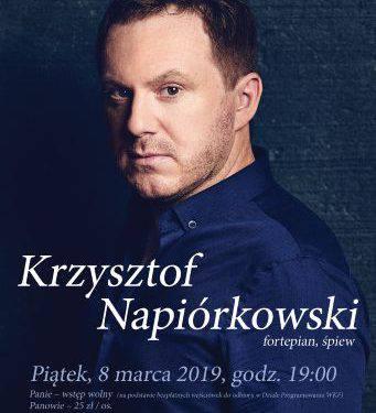 Жіночий день: Кшиштоф Напірковський — концерт