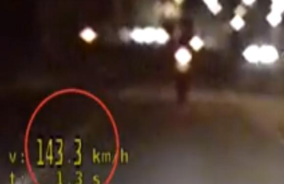У Вроцлаві затримали мотоцикліста, який гасав центром зі швидкістю 143 км/год. (+ВІДЕО)