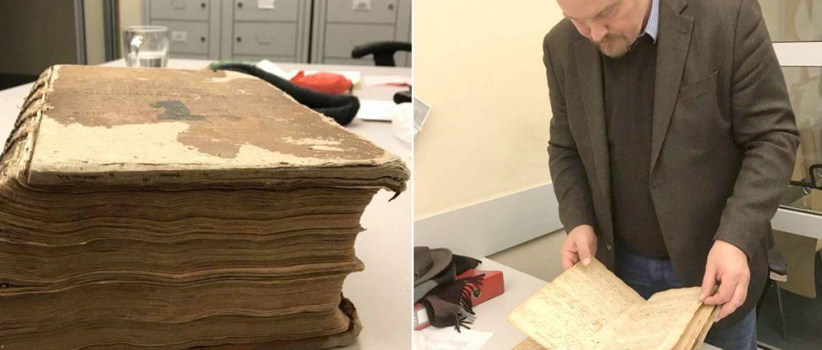 Будівельник викрав історичну книгу з собору та приїхав до Польщі, щоб збути антикваріат