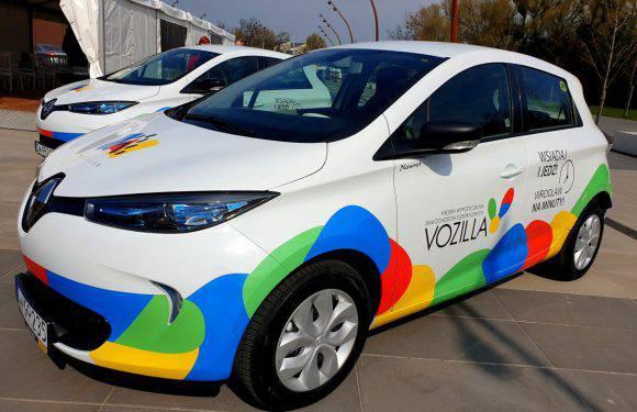 Вроцлав: в складі Vozilla нові е-автомобілі Renault ZOE