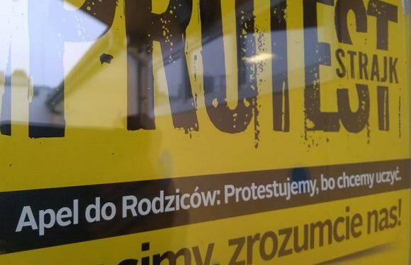 Перелік шкіл Вроцлава, які приймають участь в страйку