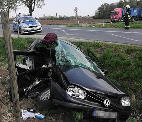 Аварія на дорозі «Вроцлав-Стшелін»: троє поранених