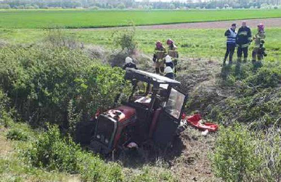 У Сілезії потяг збив насмерть тракториста (+ФОТО)