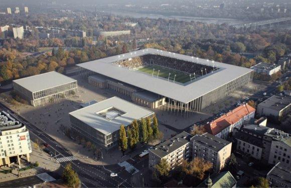У Варшаві збудують новий футбольний стадіон за 158 мільйонів злотих [Візуалізація]