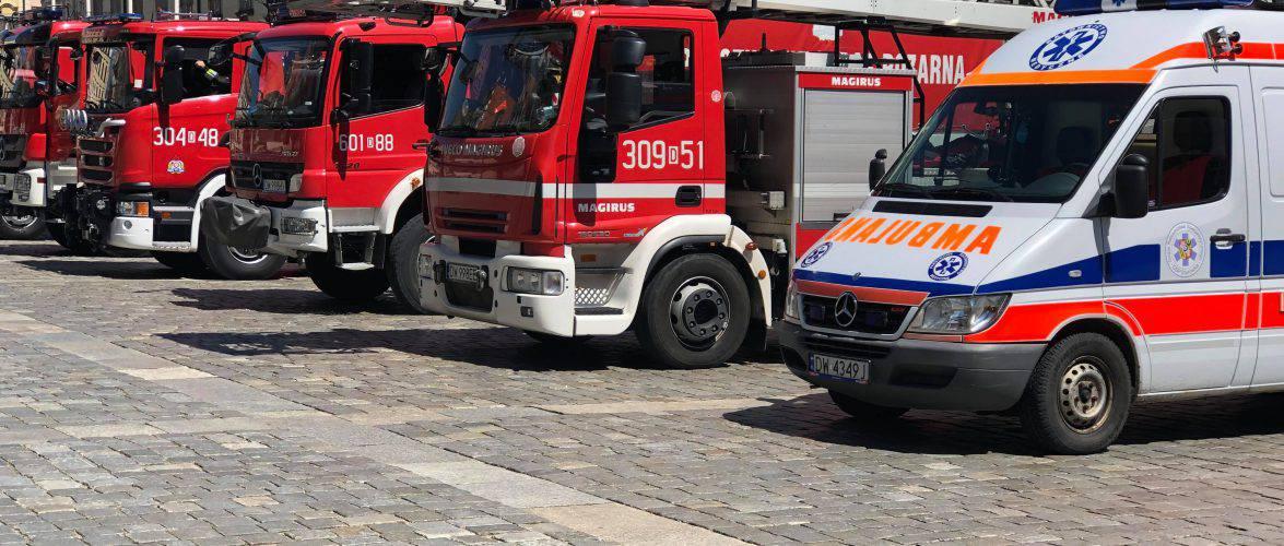 У Варшаві в результаті обвалу стіни будинку постраждали українці