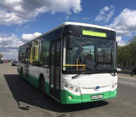 В Єленій Гурі протестували електричний автобус