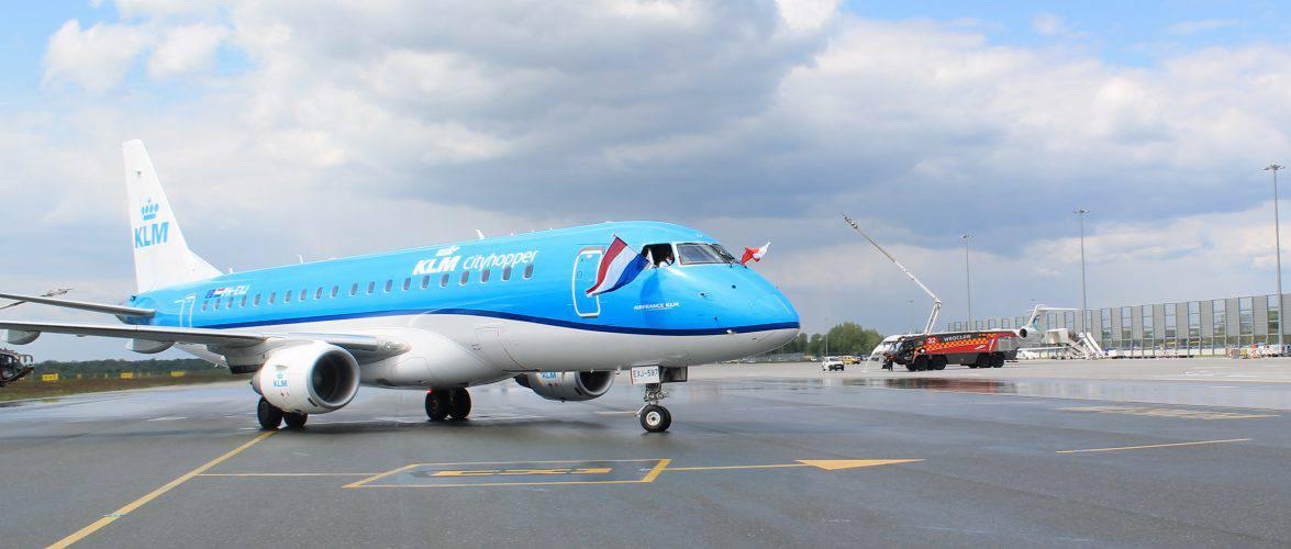 Авіакомпанія  KLM запускає рейс Амстердам-Вроцлав-Амстердам