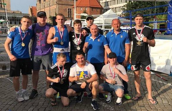 Українці в Польщі здобули 6 нагород на змаганнях з боксу