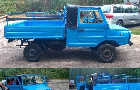 Рідкісне українське авто продають на «євробляхах» в Польщі