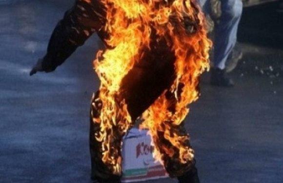 Нижня Сілезія:  полум'я вже дійшло до даху, а всередині будинку знаходилася дитина з батьками