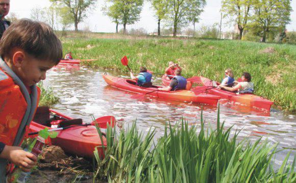 Сплав каяками — річка Бистжица з KayakTours.pl