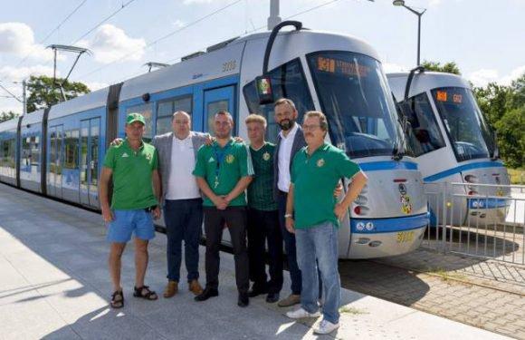 Трамваї, які курсують Вроцлавом, матимуть  на дзеркалах герб клубу «Шльонск. Вроцлав»