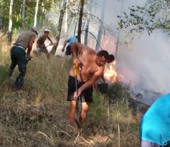 У Нижній Сілезії українці самотужки загасили страшну пожежу (+ВІДЕО)