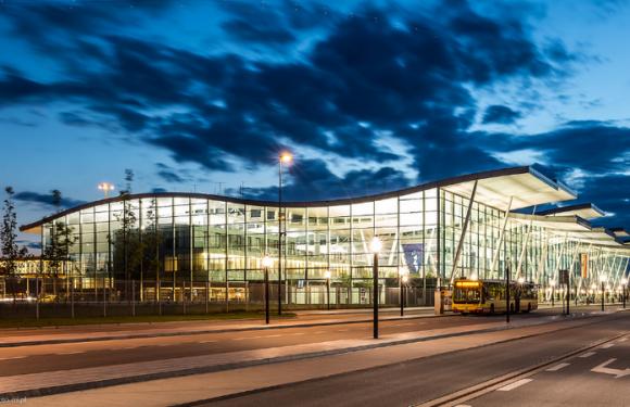 Аеропорт Вроцлава: рекордні півроку