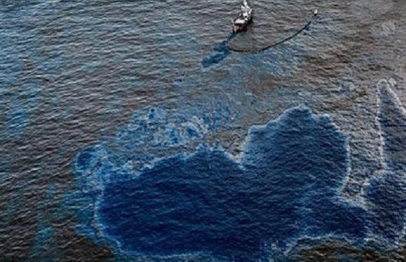 В Одрі виявили 12-кілометрову пляму нафти