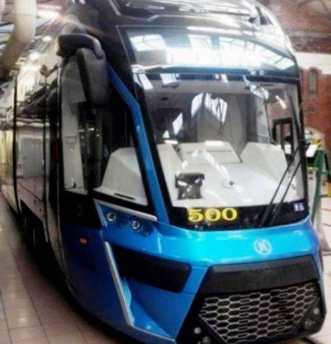 У Вроцлаві тестуватимуть новий трамвай Moderus Gamma