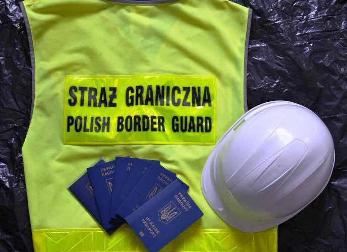 Шестеро українців, які незаконно працювали у Польщі,  затримані офіцерами прикордонної служби з Вроцлава