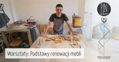 Основи ремонту меблів з Петром Замецьким в майстерні