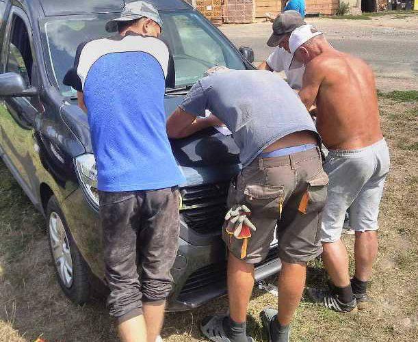 Прикордонники з Легниці  перевірили будівельну бригаду українців.  Четверо працювали нелегально