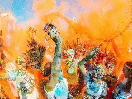 Вибух радості та кольорів, або The Color Run у Вроцлаві