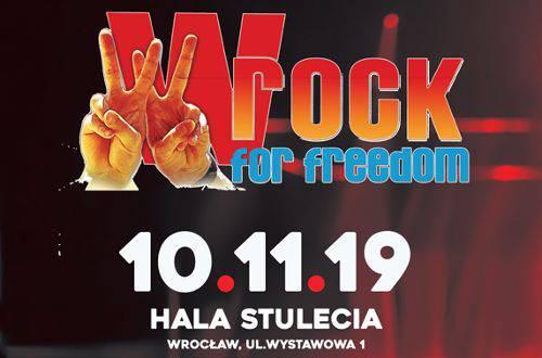 wROCK for Freedom 2019 в Залі Століття (Hala Stulecia)
