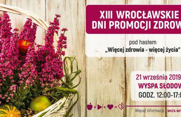 «Більше здоров'я — більше життя!».  21 вересня — Wroclaw Days Promotion Health