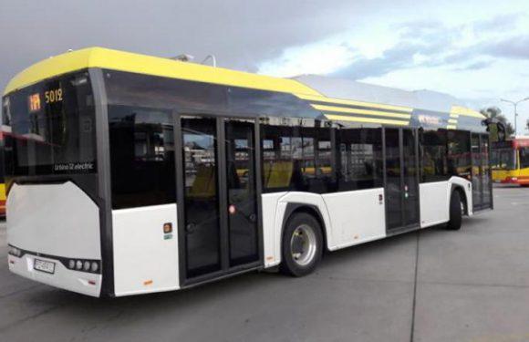 Новий електробус на вулицях Вроцлава
