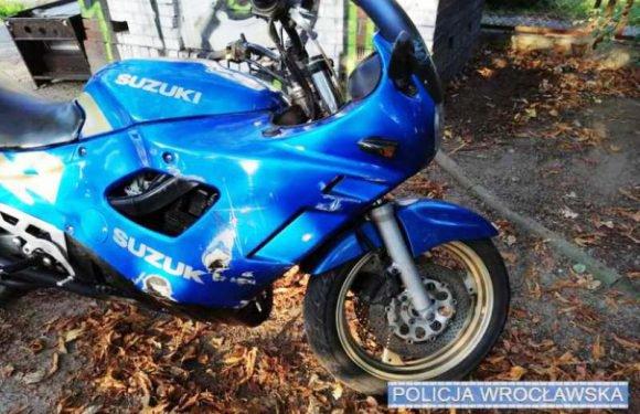 Поліцейські Вроцлава знайшли викрадений мотоцикл і передали його власникові