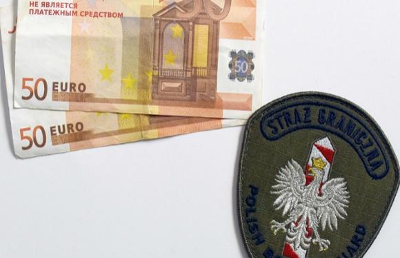 Українці дедалі частіше везуть до Польщі фальшиві гроші
