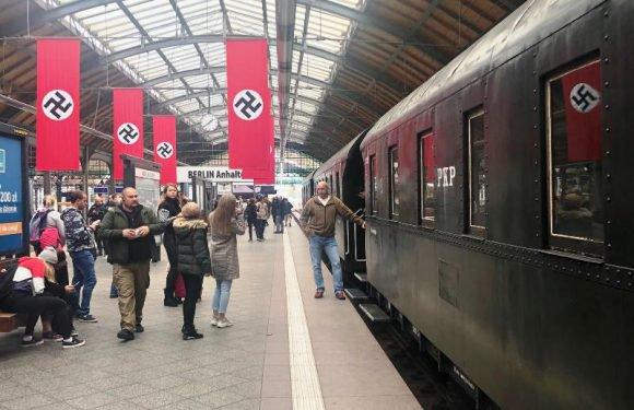 Свастика на головному вокзалі у Вроцлаві. Що відбувається?