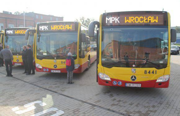 Вроцлав отримав 50 нових автобусів Mercedes Citaro II