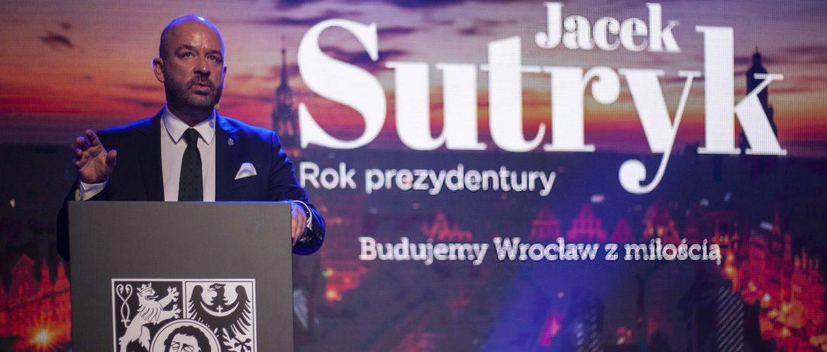Рік президенства: Сутрик відзвітував за рік своєї роботи у Вроцлаві