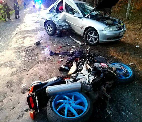 Неподалік Цєшкова — смертельне ДТП: мотоцикліст загинув на місці
