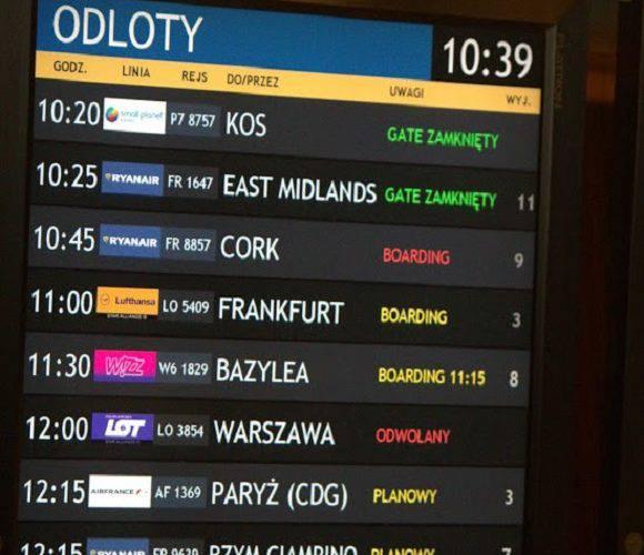 У 2019 році аеропорт Вроцлава обслужив понад 3,5 мільйона пасажирів