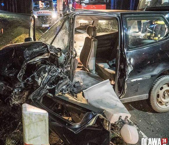 Страшна аварія під Вроцлавом: 2 особи поранені, водій — у критичному стані