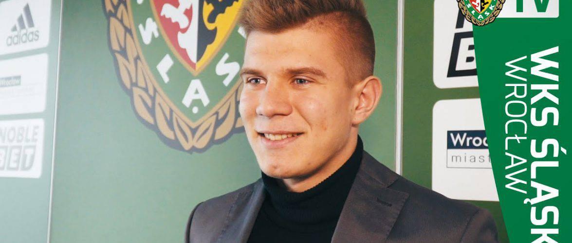 Интервью: Пётр Самец-Талар, юная надежда «Шлёнска Вроцлав» (версия на русском)