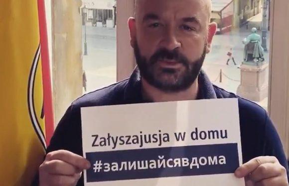 Президент Вроцлава заговорив українською — «Залишайтесь вдома!»