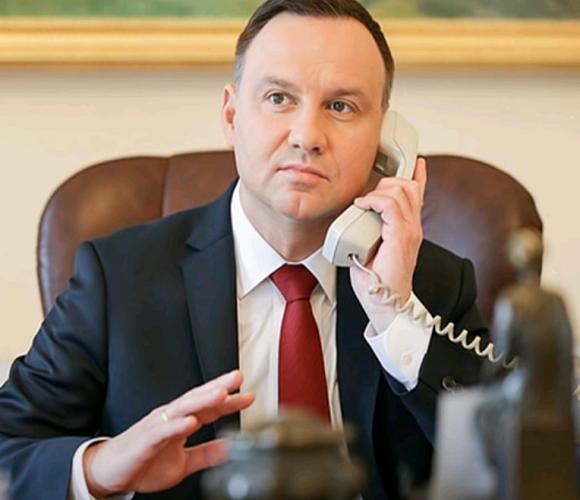 Російські пранкери зателефонували Анджею Дуді: той не зрозумів підміни і розмовляв з ними 10 хвилин [+ВІДЕО]