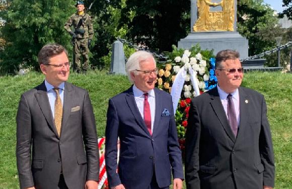 Україна, Польща і Литва створили «Люблінський трикутник»