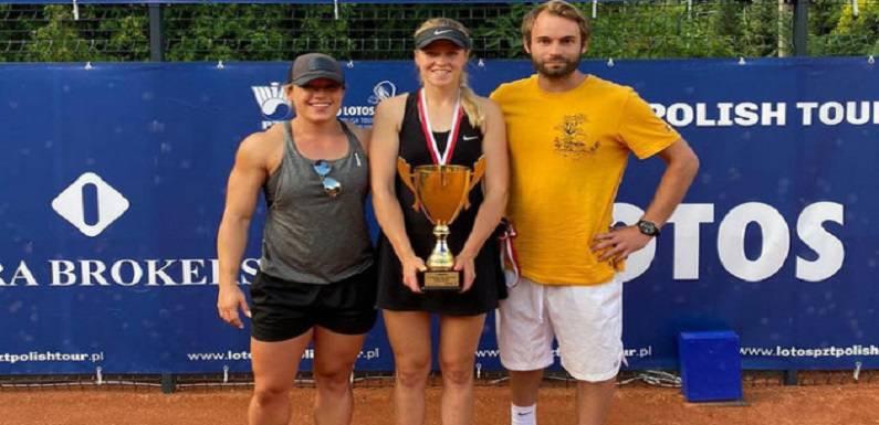 Українка в Польщі виграла чемпіонат з тенісу