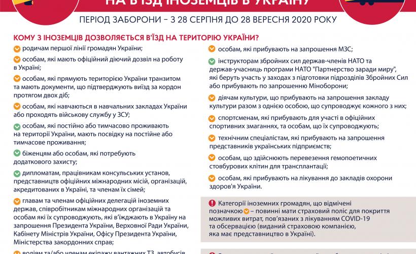 Хто з іноземців може заїхати в Україну?