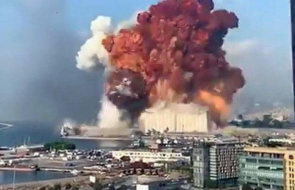 У Бейруті дуже потужний вибух. Ліван просить допомогу [ФОТО, ВІДЕО]