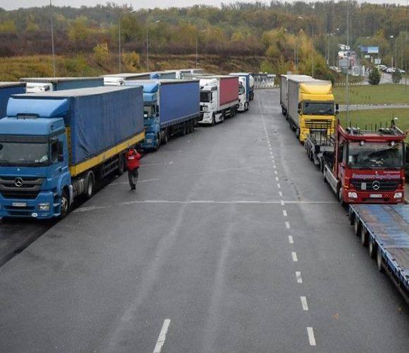 Сьогодні на польсько-українському кордоні було 540 вантажівок