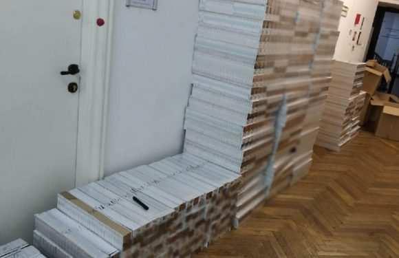 У Польщі впіймали українця, який віз 36 000 пачок сигарет