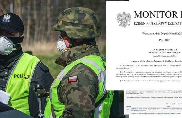 Прем'єр-міністр вивів на вулиці Польщі армію