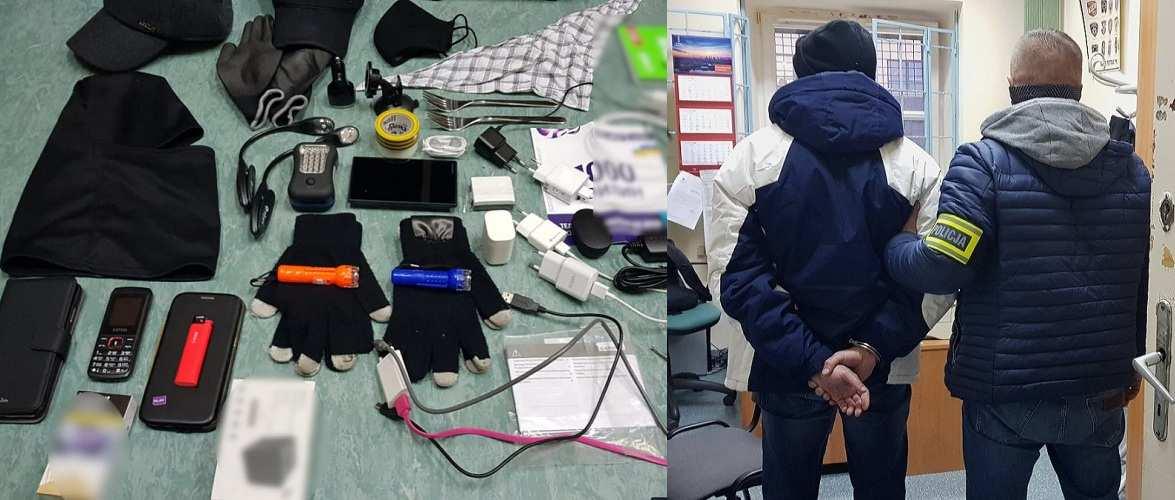 Двох українців затримала поліція Польщі, коли вони зламували банкомат [+ВІДЕО]