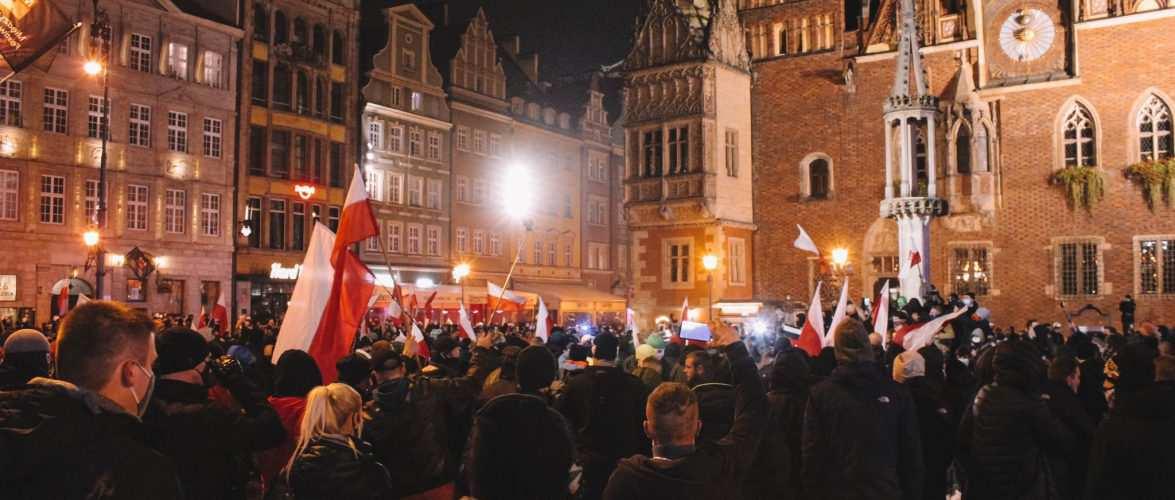 У Вроцлаві кілька тисяч осіб вийшли на Марш Незалежності [+ВІДЕО,ФОТО]