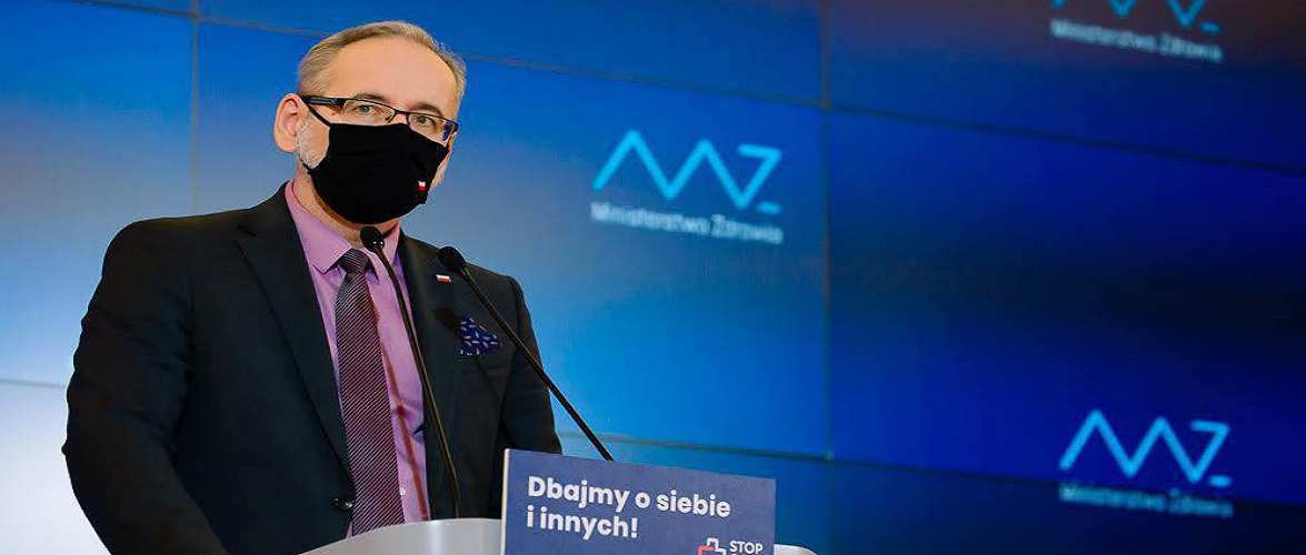 Міністр охорони здоров'я Польщі попереджає про третю хвилю епідемії