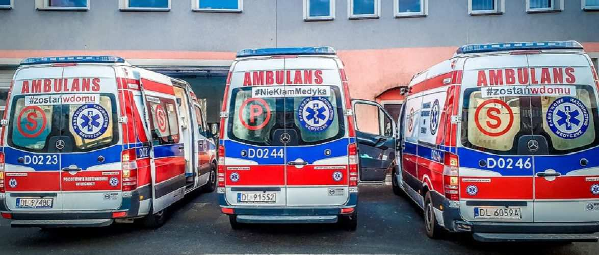 У Польщі жінка померла на вулиці, бо всі швидкі були зайняті коронавірусом