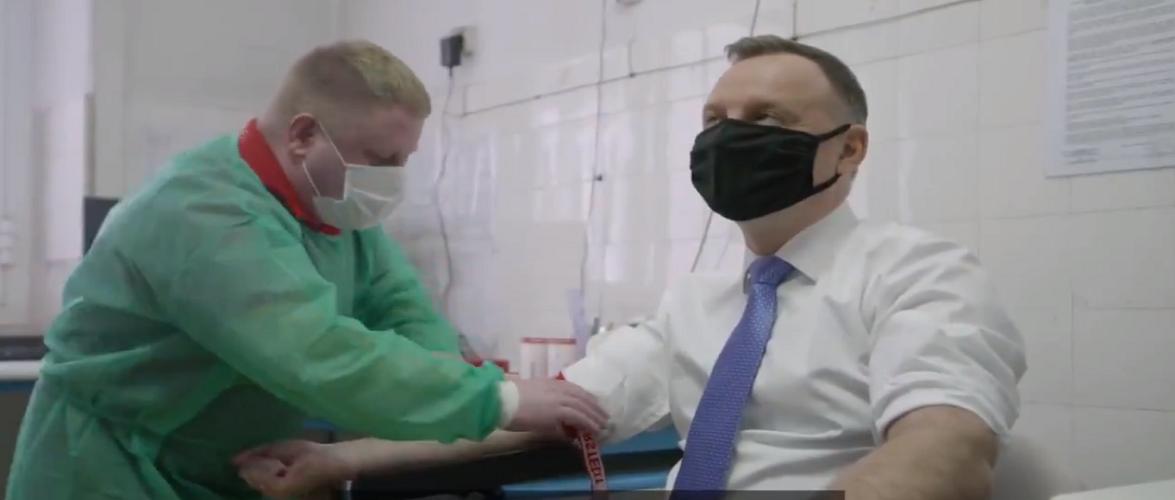 «Перехворів на коронавірус? Здай кров!» — закликає президент Польщі [+ВІДЕО]